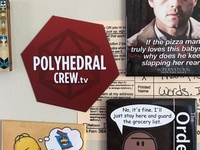 Polyhedral Crew Magnet