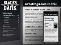 Blades in the Dark RPG site