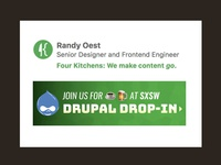 Updating our Company Signature for our Drupal Drop-in