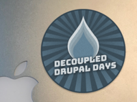 Decouple Drupal Days Sticker 1