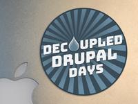 Decouple Drupal Days Sticker Final
