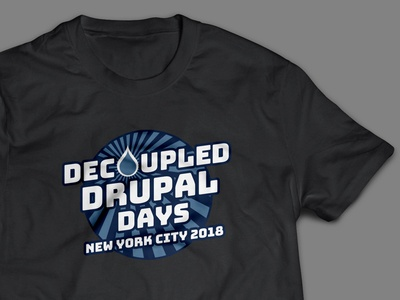 Decoupled Drupal Days Shirt decoupled shirt drupal