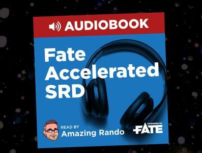 Fate Accelerated SRD Audiobook Cover rpg