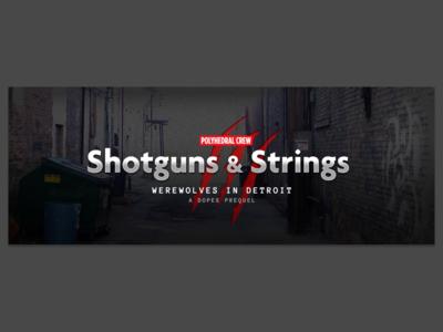 Shotguns & Strings (RPG campaign art)