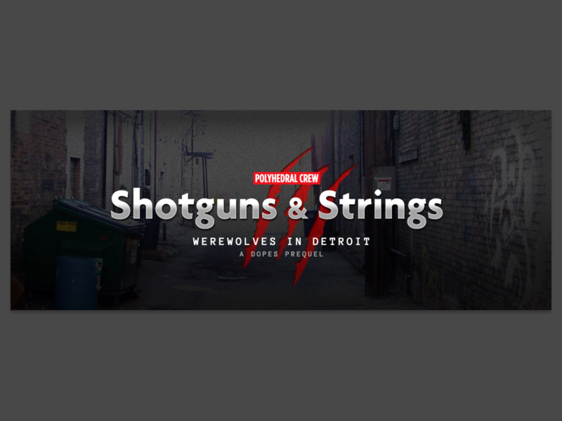 Shotguns & Strings (RPG campaign art) rpg