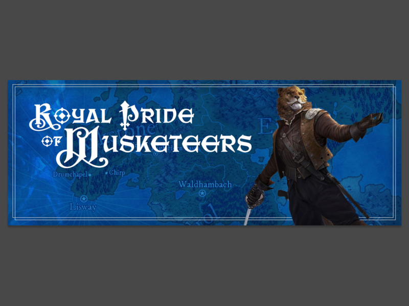 Royal Pride of Musketeers (RPG campaign hero) rpg