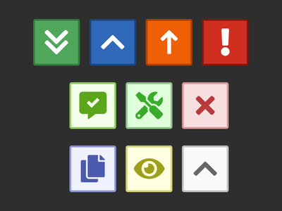 Quick and simple icons for an internal slackbot