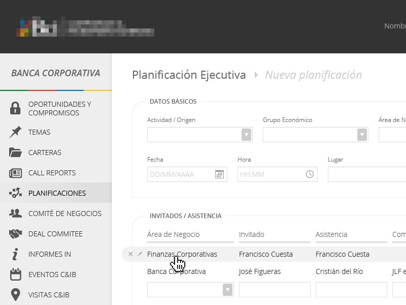 new project 2 ui web form interface