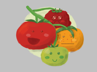 Tomato Life on the Vine
