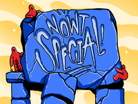 Nowt Special August Logo