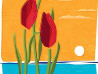 Tulip Time poster