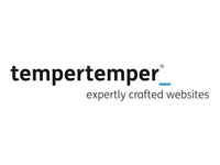 New tempertemper logo (with strapline)