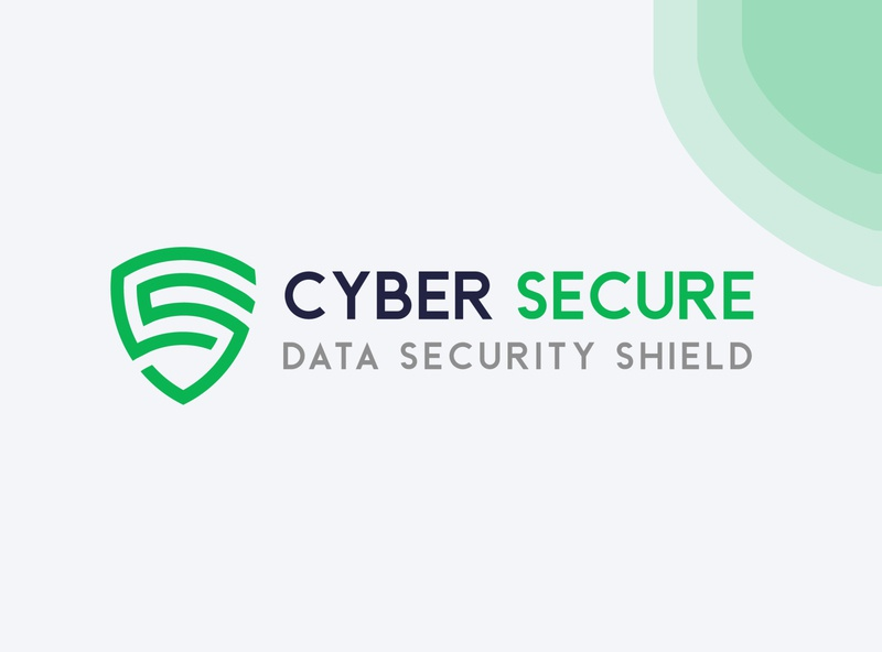 Cyber Secure Logo Design (Concept) letter s letter c cybersecurity data shield green vector logotype logo design illustration brand identity identity branding system security secure cyber