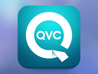 QVC App Icon for ios 7 - Part 2