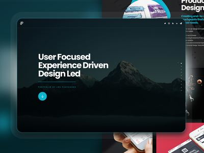 2021 Portfolio website productdesign ux ui portfolio