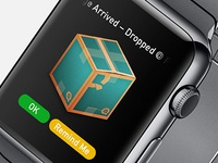 Apple Watch - Package Delivered