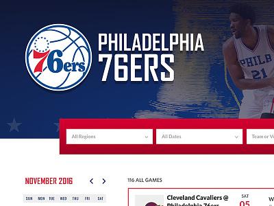 Philadelphia 76ers Experience on StubHub stubhub philadelphia philly 76ers booking ticketing checkout patriotic basketball