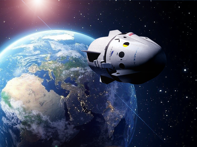 Space Mission - Teaser spacex astronaut earth shuttle space