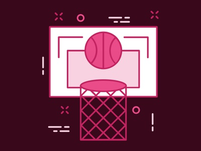 It's Draft Day illustration basketball day draft invite dribbble