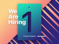 Hiring Product Designer