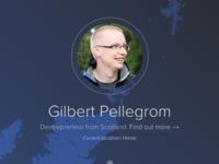 gilbitron.me + tracking