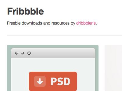 Fribbble free freebie psd download dev7studios fribbble