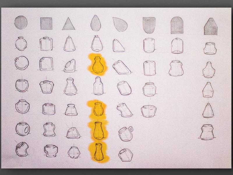 Desenvolvimento - Embalagem Vitalin package design sketch product design graphic  design