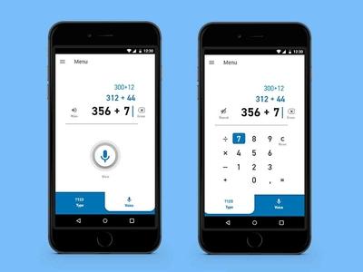 Daily UI #004 - Calculator adobe photoshop cc adobexd app calculator app daily 100 dailui ui accessibility