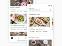 Uber Eats - Restaurant Card Redesign