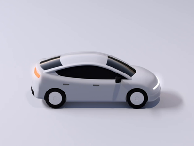UberX - 3D Vehicle Redesign redesign vehicle app rideshare rider upgrade fleet motion design motion animation 3d animation 3d uber design uber