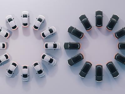 Uber Vehicle Flower animation 3d product design rider rideshare app vehicle redesign upgrade fleet uber design uber