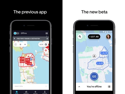 Building Together after before and after before driver app driver interace ui designs map uber design