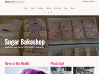 Sugar Bakeshop Redesign