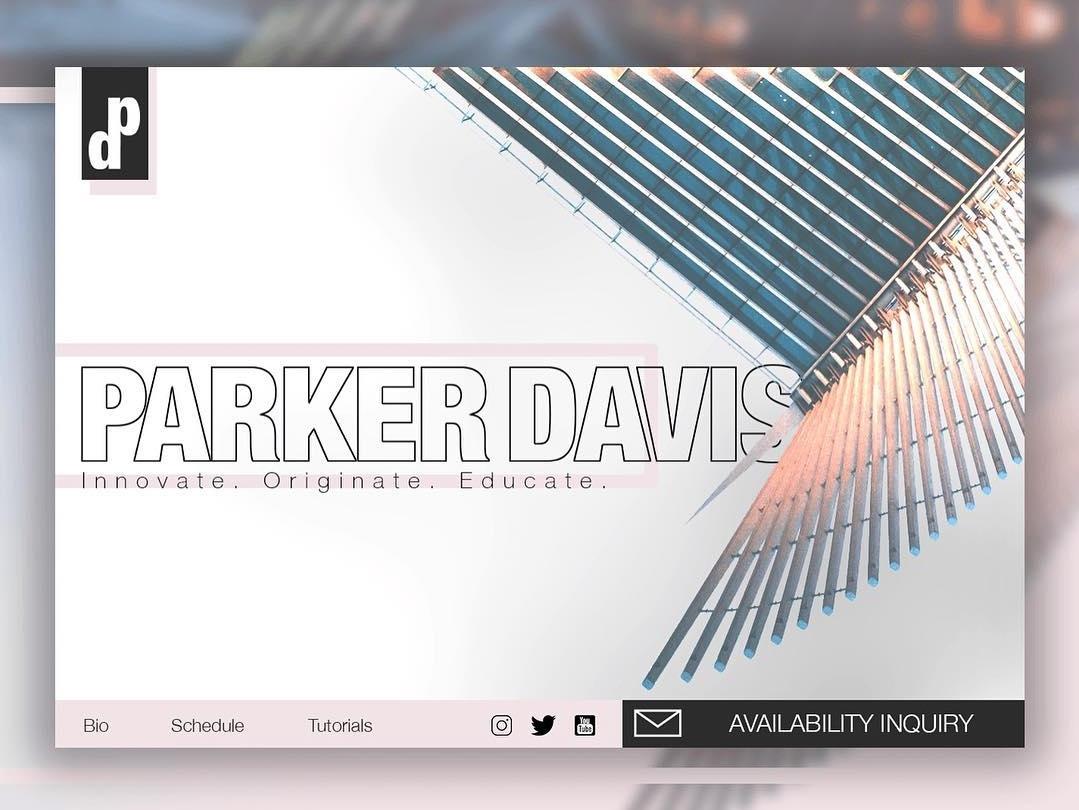 UI Experiment web design ux ui mockup landing page website design uiux