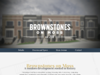 Brownstone home mockup
