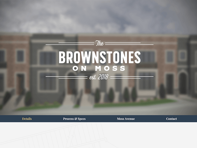 Luxury Real Estate Project branding responsive web web design ux ui mockup home page website design uiux landing page
