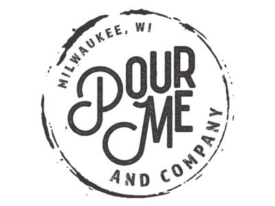 Pour Me Logo typography branding logo logodesign