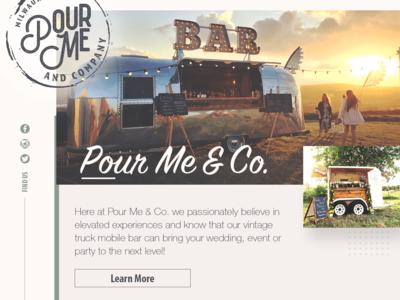 Pour Me Website