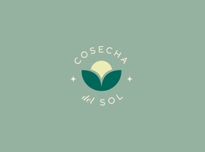 Logo Cosecha del Sol mexico cuu vector graphic design color logo branding design