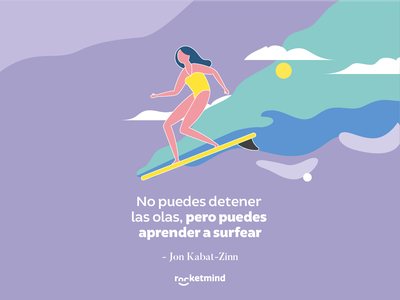 Rocketmind illustration 3 color ilustracion mexico art character vector branding graphic design design illustration