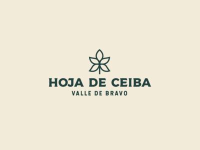 Hoja de Ceiba