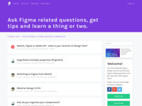 FigmaTalk — A design community around Figma