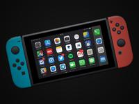 iOS 11.2 on Nintendo Switch