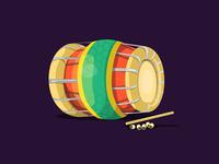 Tavil - the percussion instrument
