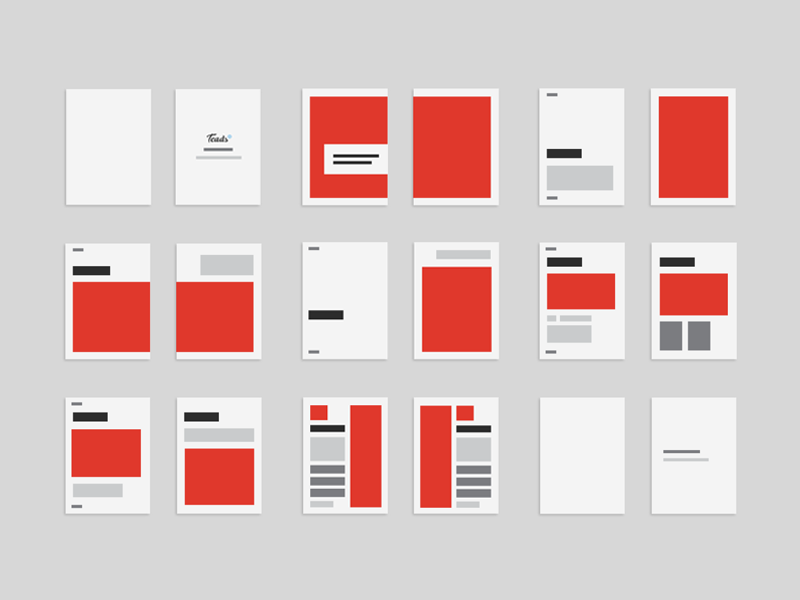 design layout for a book by olivier reynaud dribbble dribbble