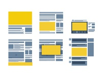 Wireframes Integration of outStream Video Ad Formats