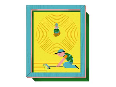 Mindfulness for children sandbox emotions peace of mind kid zen garden zen mindfulness children psychology psychology newsweek editorial illustration editorial illustration