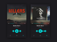 Daily UI 08 / Music Player