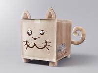 Parcel cat concept