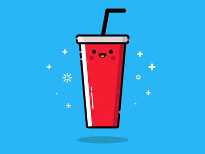 Drink blue red cola illustration vector mbe drink